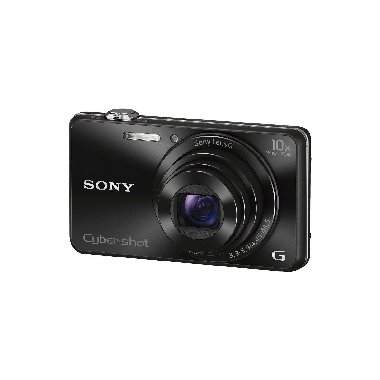 Цифровой фотоаппарат SONY Cyber-Shot WX220 Black (DSCWX220B.RU3)
