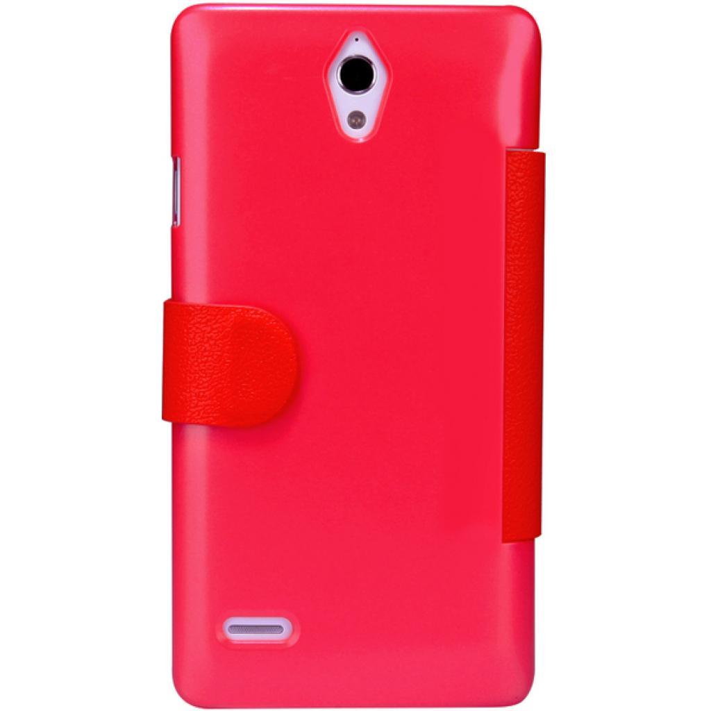 Чехол для моб. телефона NILLKIN для Huawei G700/Fresh/ Leather/Red (6076855) изображение 4