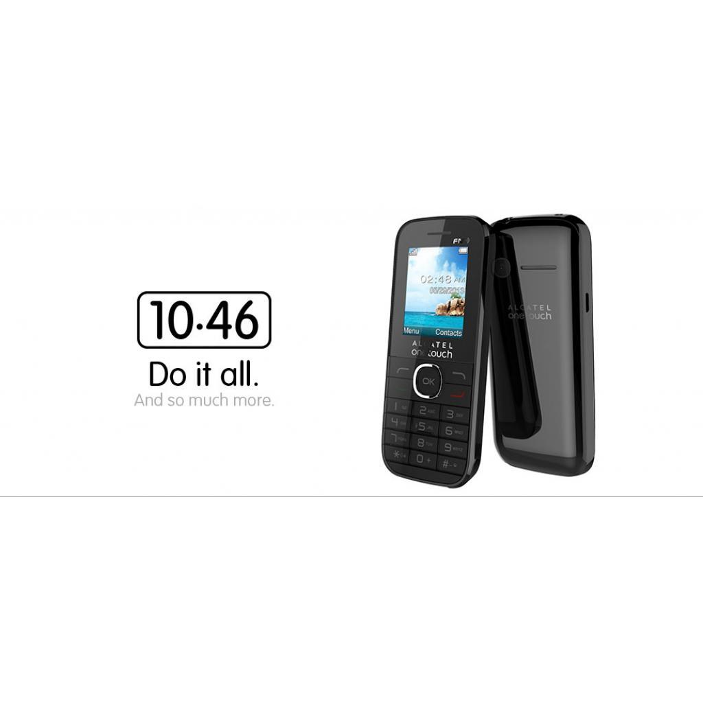Мобильный телефон ALCATEL ONETOUCH 1046D Black (4894461097763) изображение 2