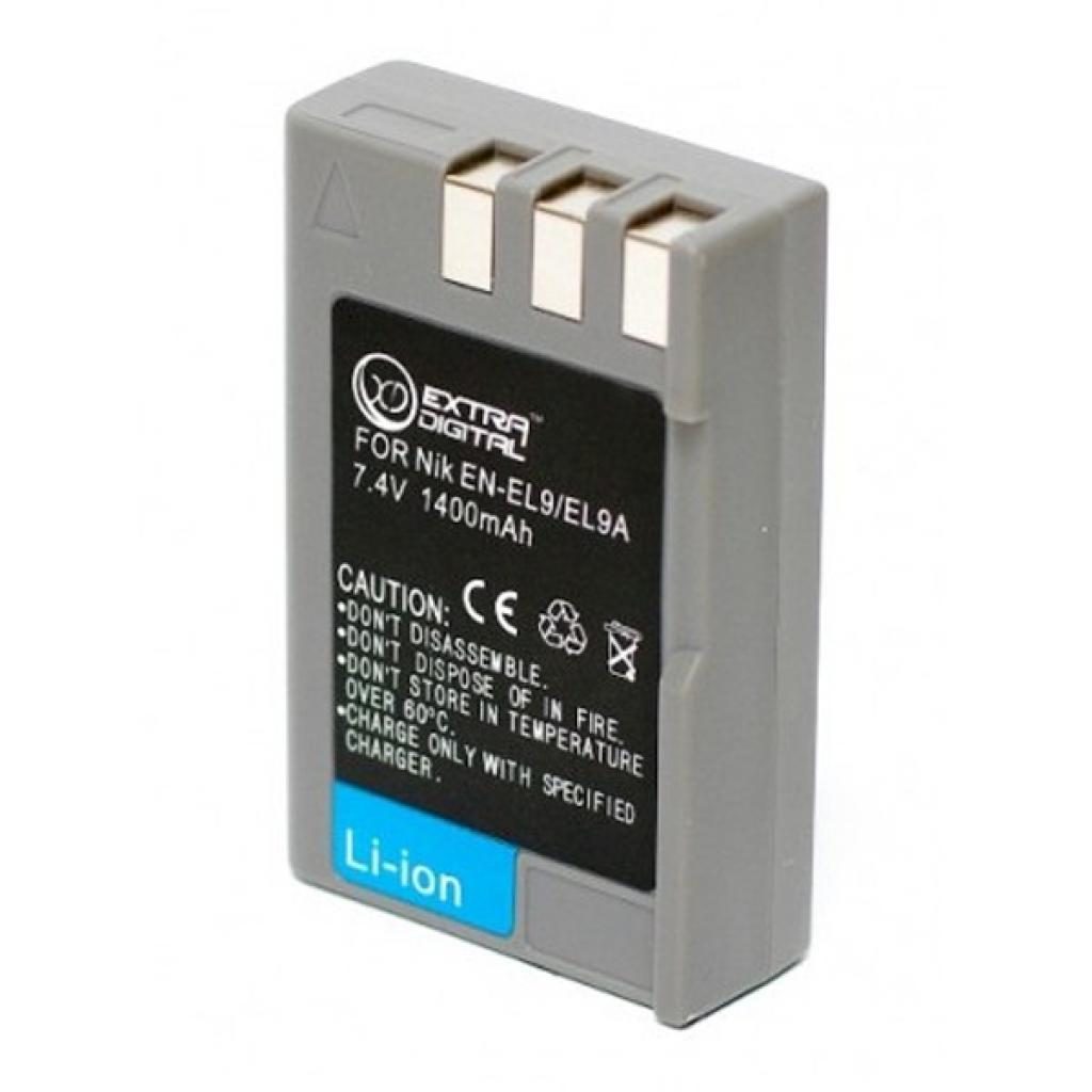 Аккумулятор к фото/видео EXTRADIGITAL Nikon EN-EL9 (BDN2535) изображение 2