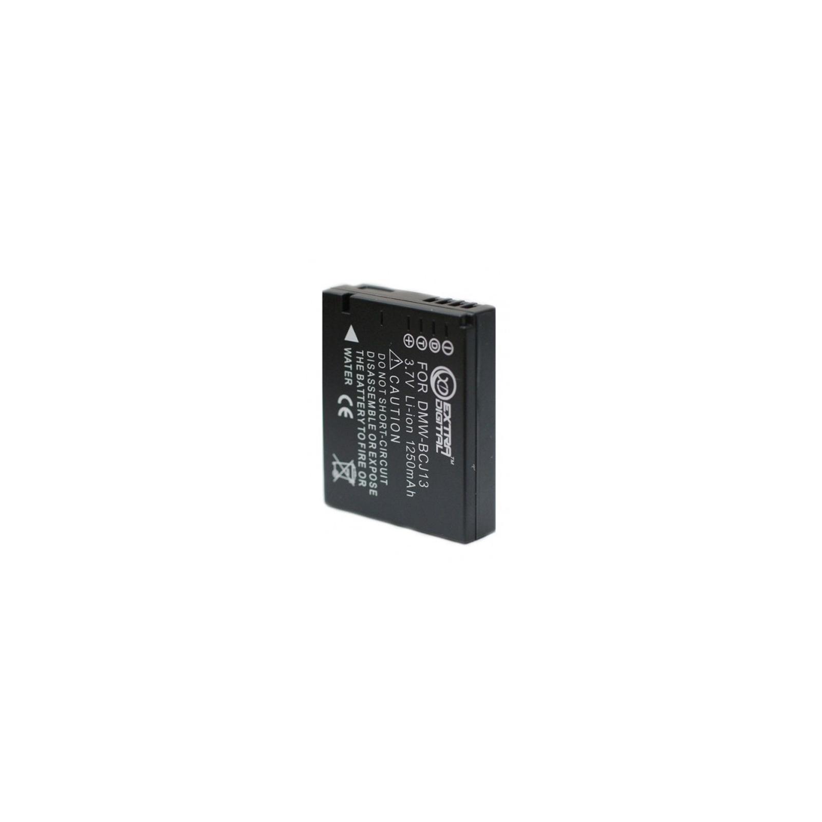 Аккумулятор к фото/видео EXTRADIGITAL Panasonic DMW-BCJ13 (BDP2560) изображение 2