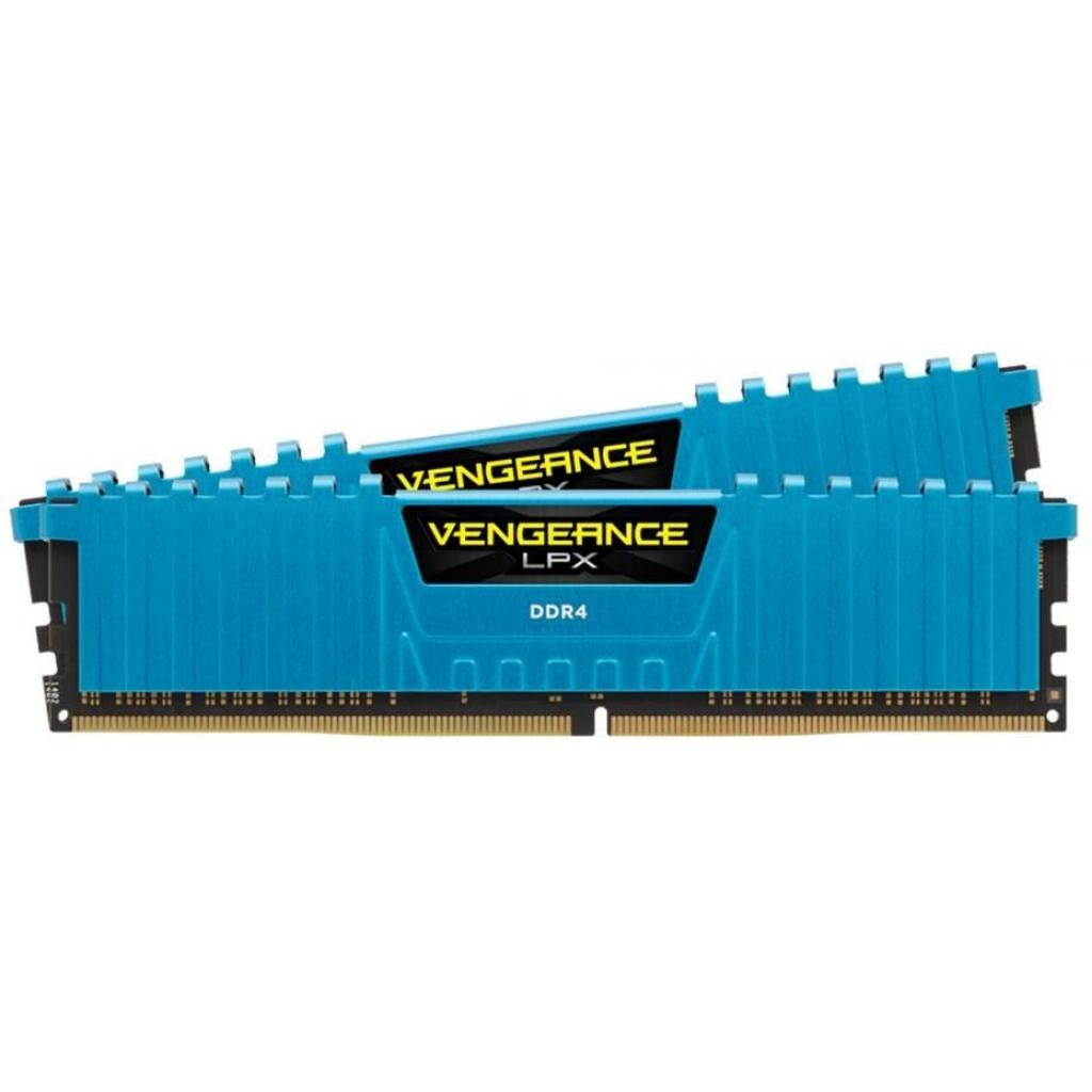 Модуль памяти для компьютера DDR4 16GB (2x8GB) 3000 MHz Vengeance LPX Blue Corsair (CMK16GX4M2B3000C15B) изображение 2