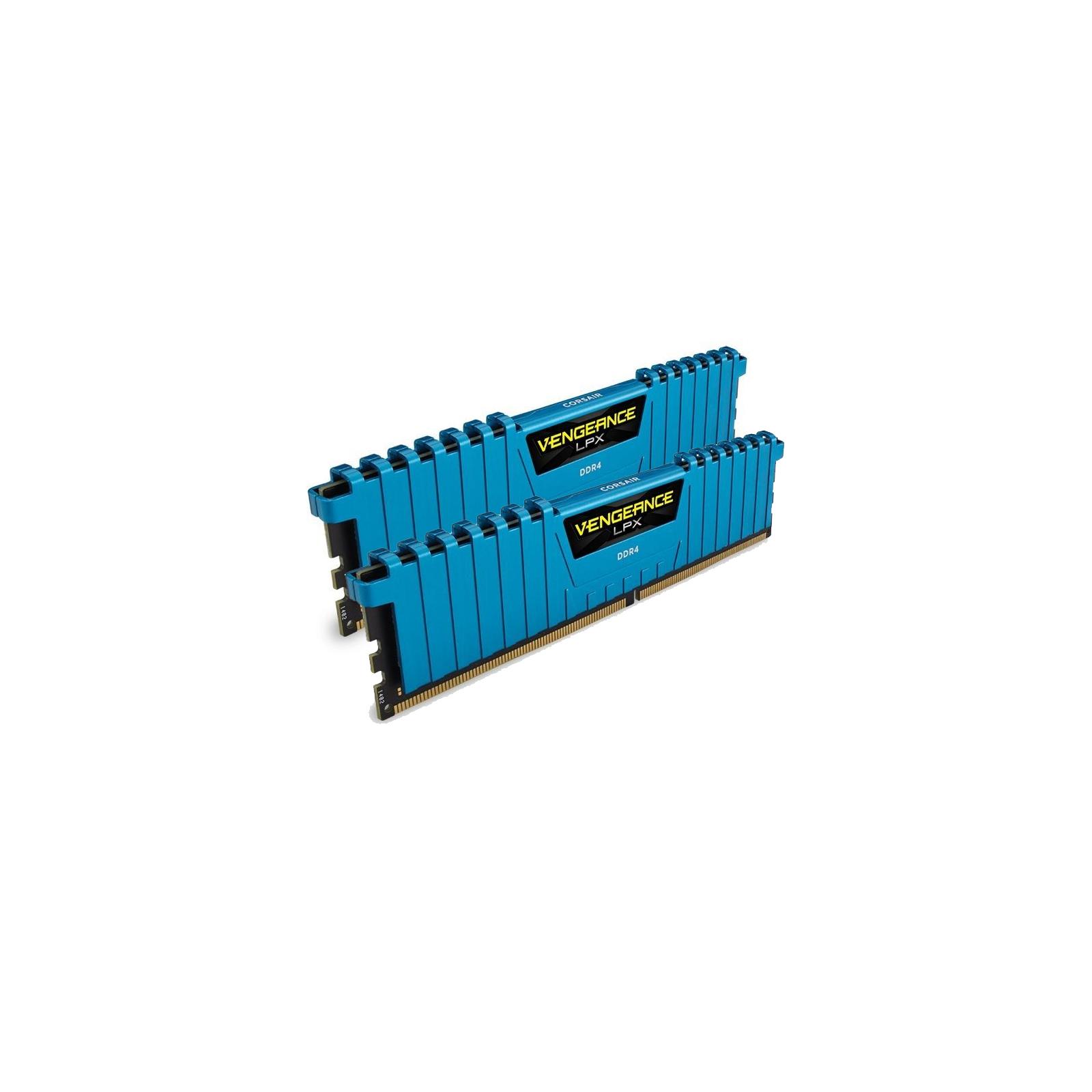 Модуль памяти для компьютера DDR4 16GB (2x8GB) 3000 MHz Vengeance LPX Blue Corsair (CMK16GX4M2B3000C15B) изображение 4
