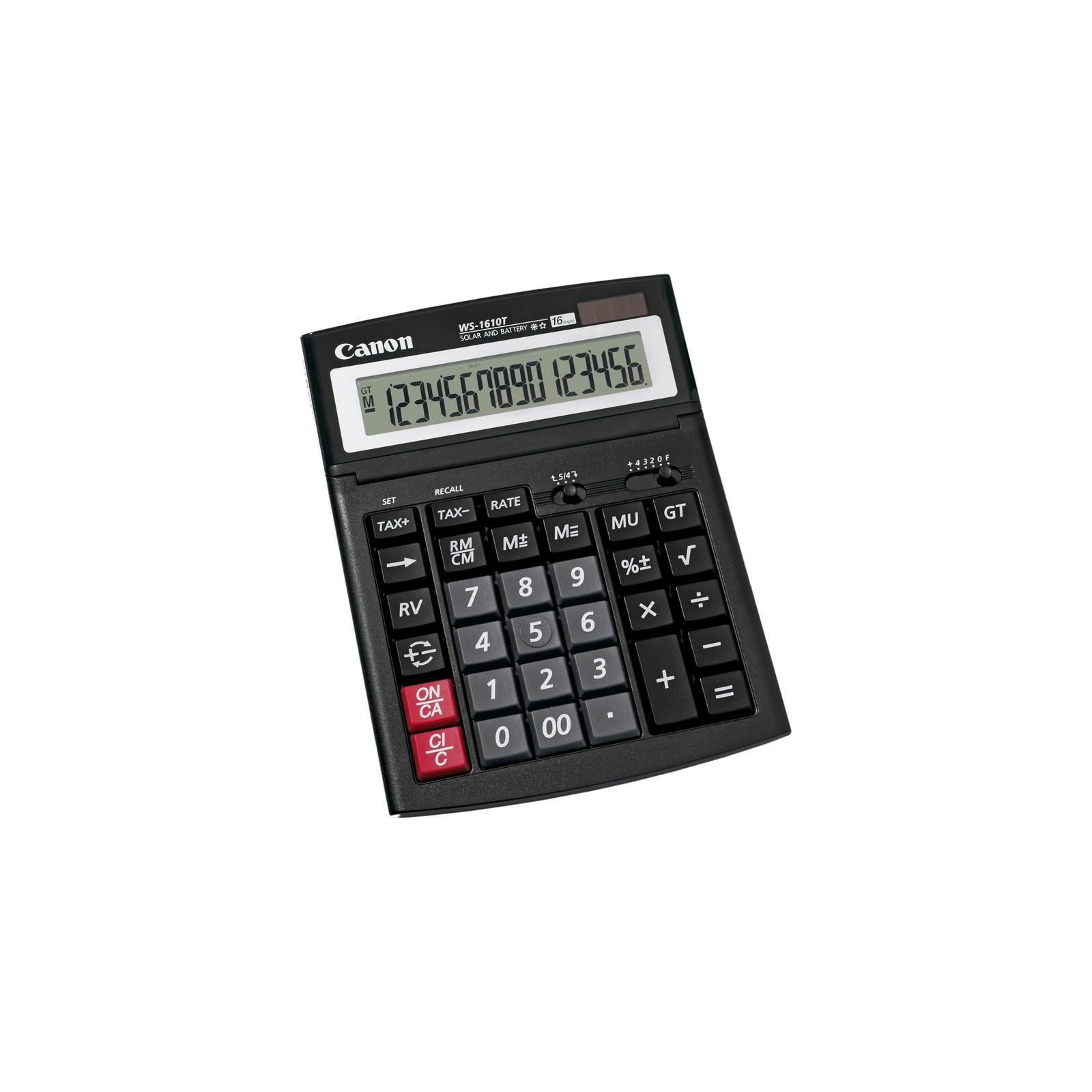 Калькулятор Canon WS-1610T (0696B001AA)