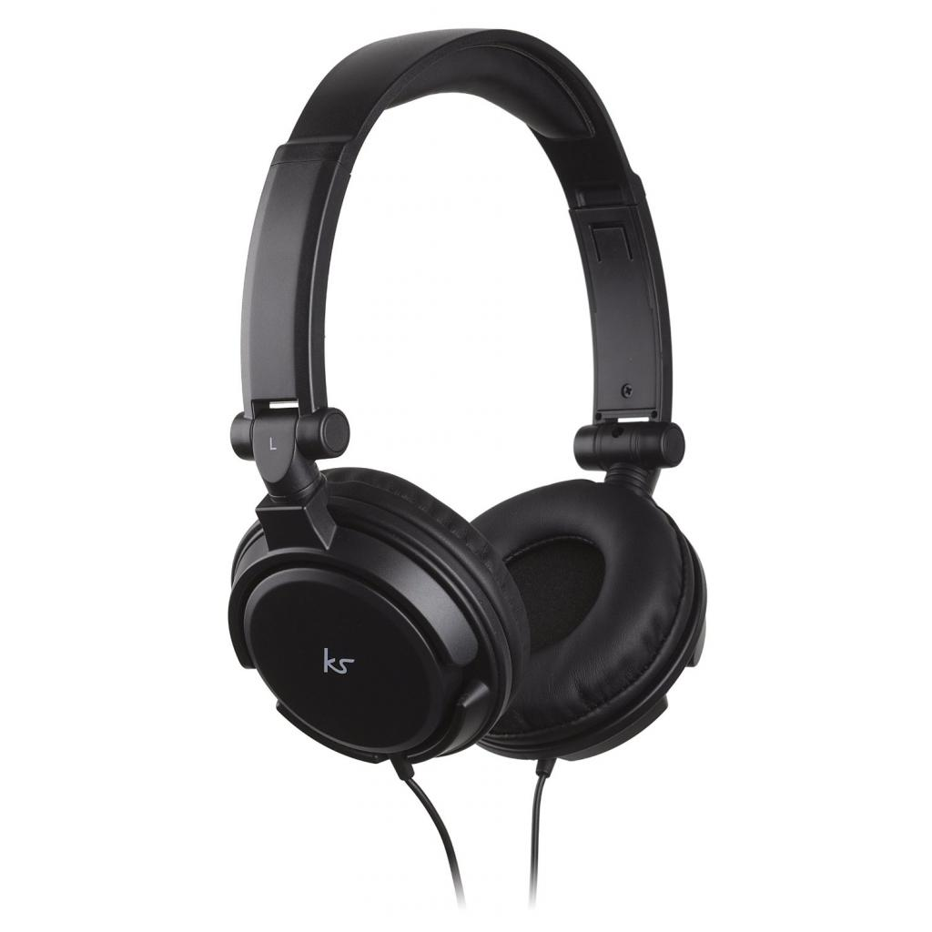 Наушники KitSound KS iD On-Ear Headphones with In-Line Mic Black (KSIDBK)