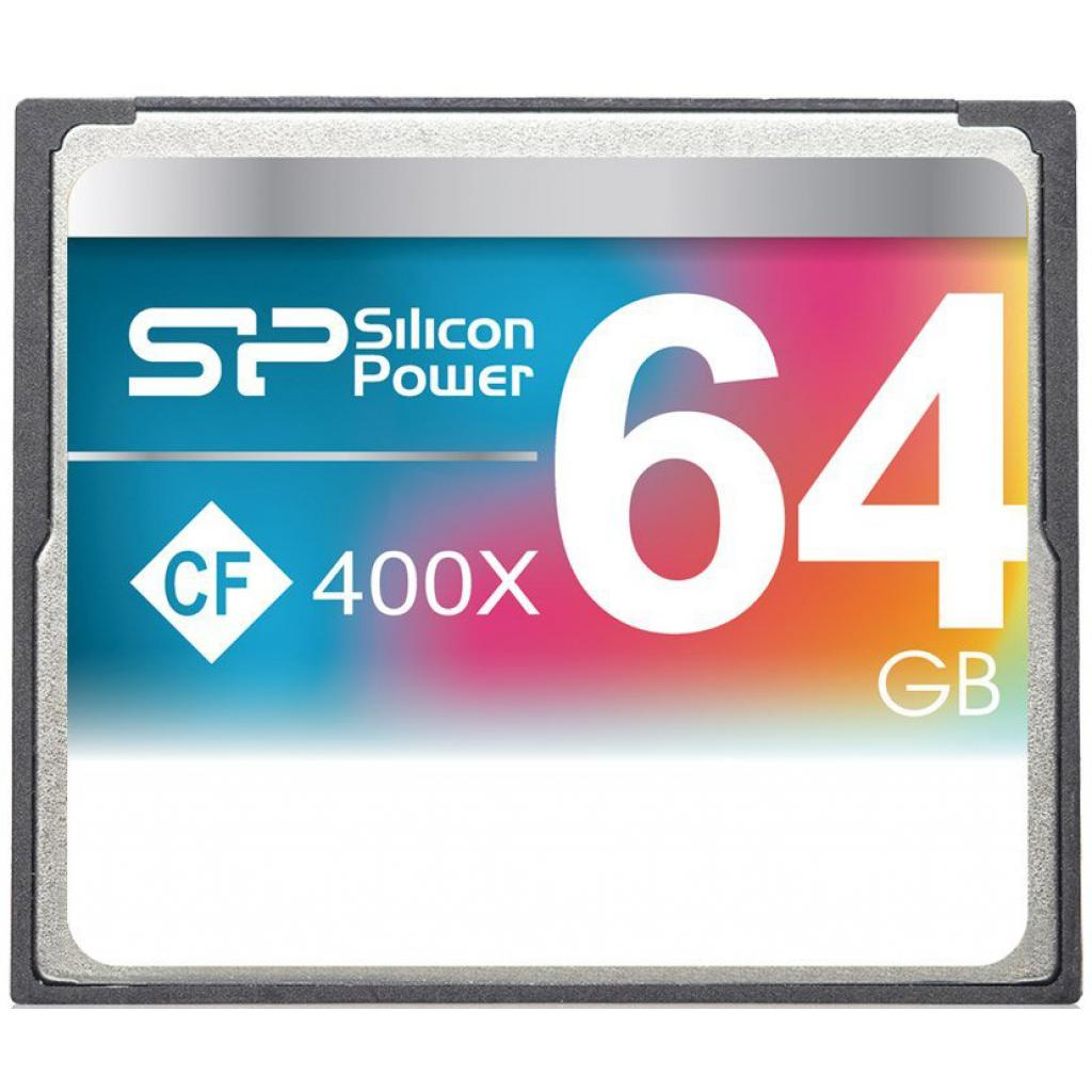 Карта памяти Silicon Power 64GB Compact Flash 400x (SP064GBCFC400V10)