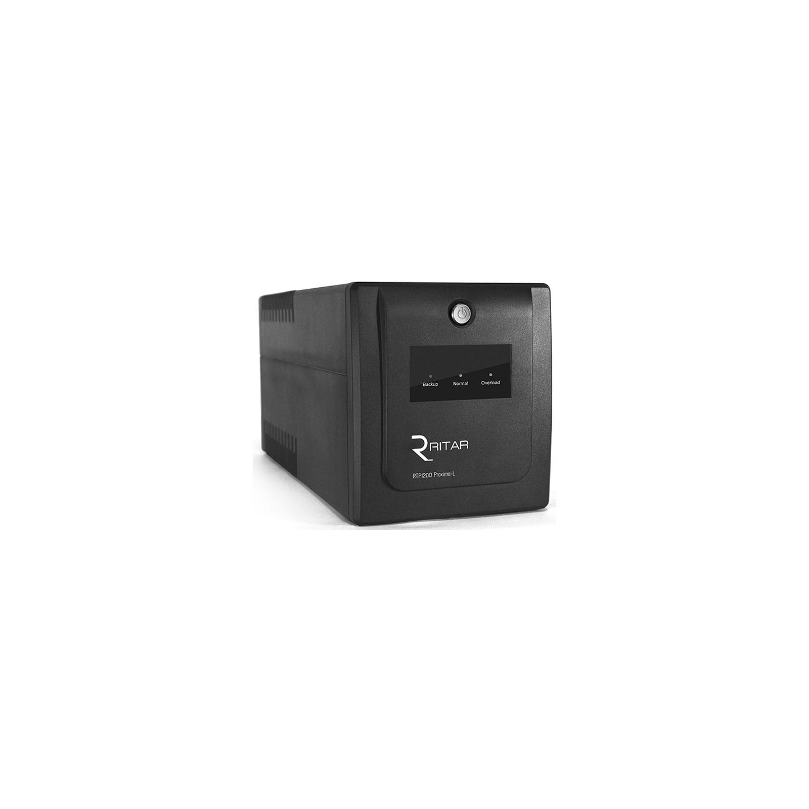 Источник бесперебойного питания Ritar RTP1200 (720W) Proxima-L (RTP1200L)