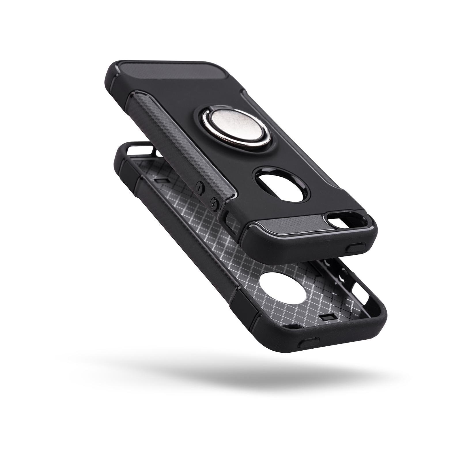 Чехол для моб. телефона Laudtec для iPhone 5/SE Ring stand (black) (LR-PCI5SE) изображение 2