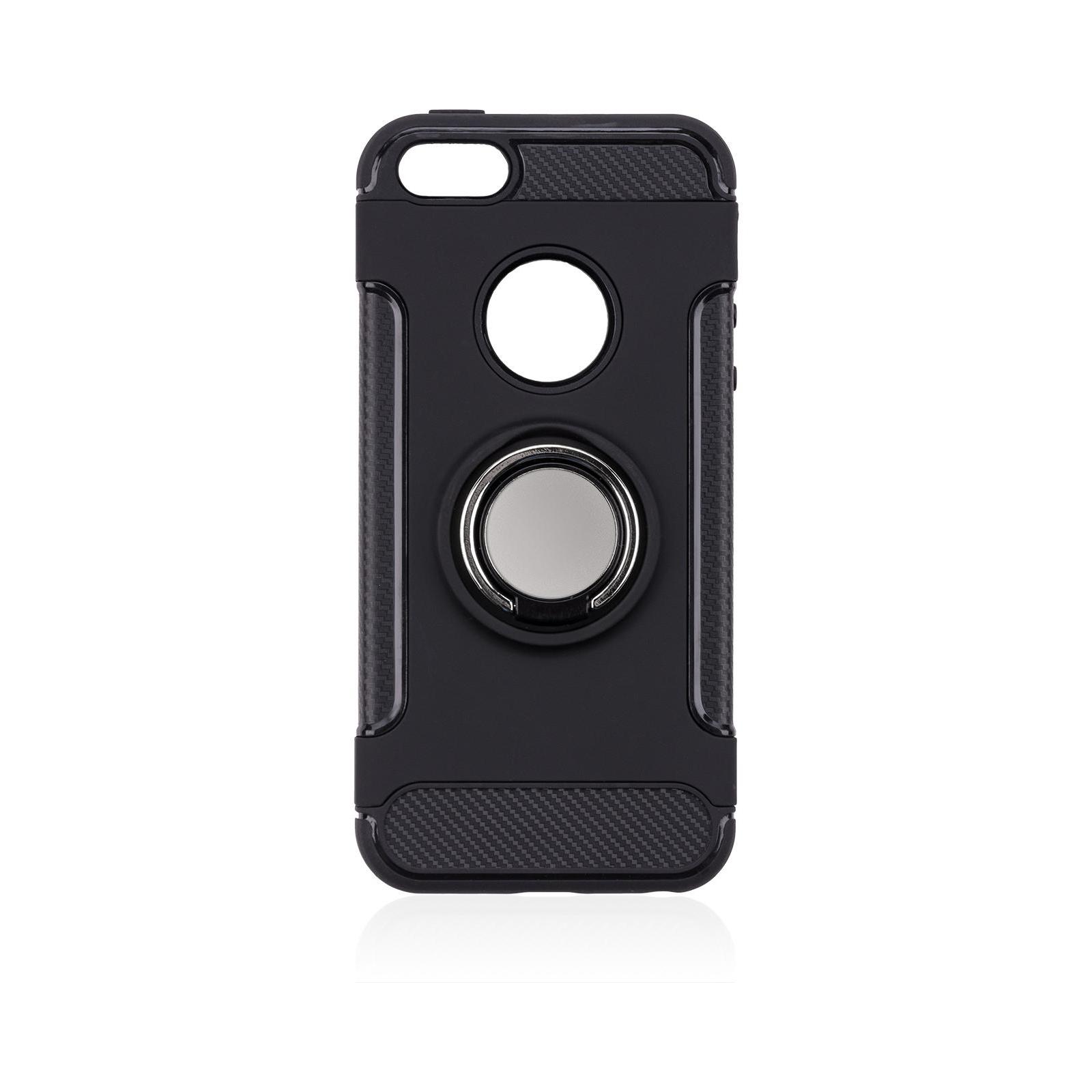 Чехол для моб. телефона Laudtec для iPhone 5/SE Ring stand (black) (LR-PCI5SE) изображение 8