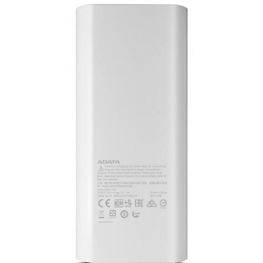 Батарея универсальная ADATA P12500D 12500mAh White (AP12500D-DGT-5V-CWH) изображение 3