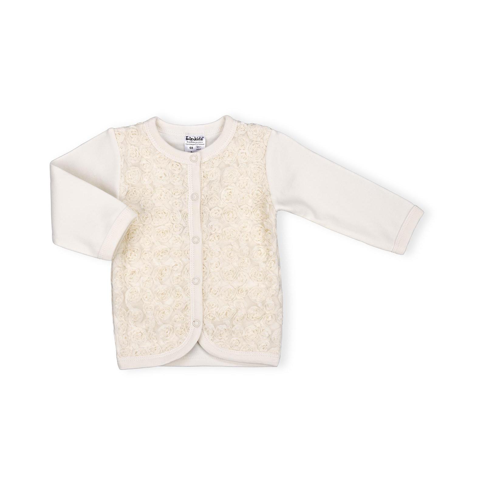 Набор детской одежды Интеркидс с розочками (2363-68G-beige) изображение 2