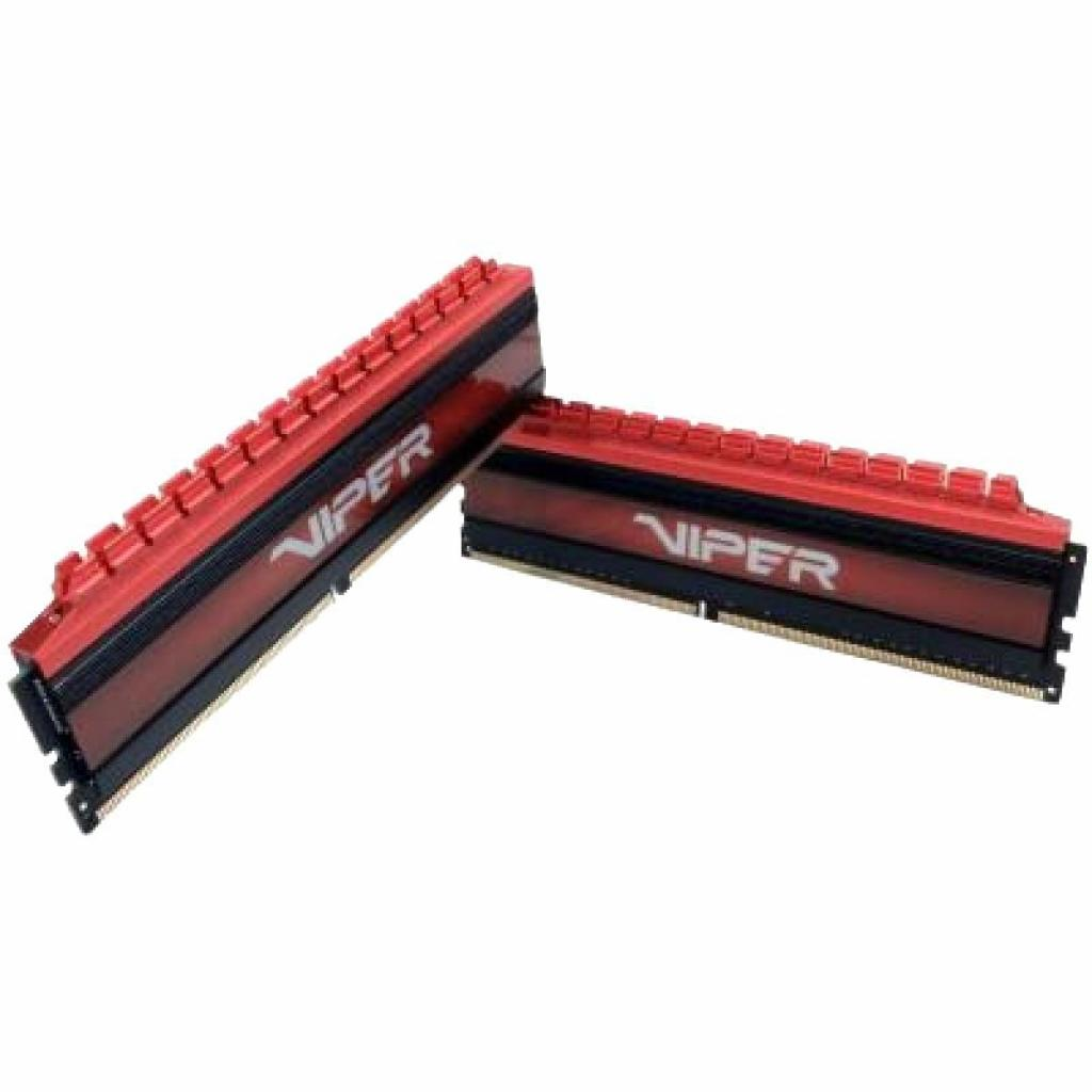 Модуль памяти для компьютера DDR4 8GB (2x4GB) 3200 MHz Viper 4 Red Patriot (PV48G320C6K) изображение 2