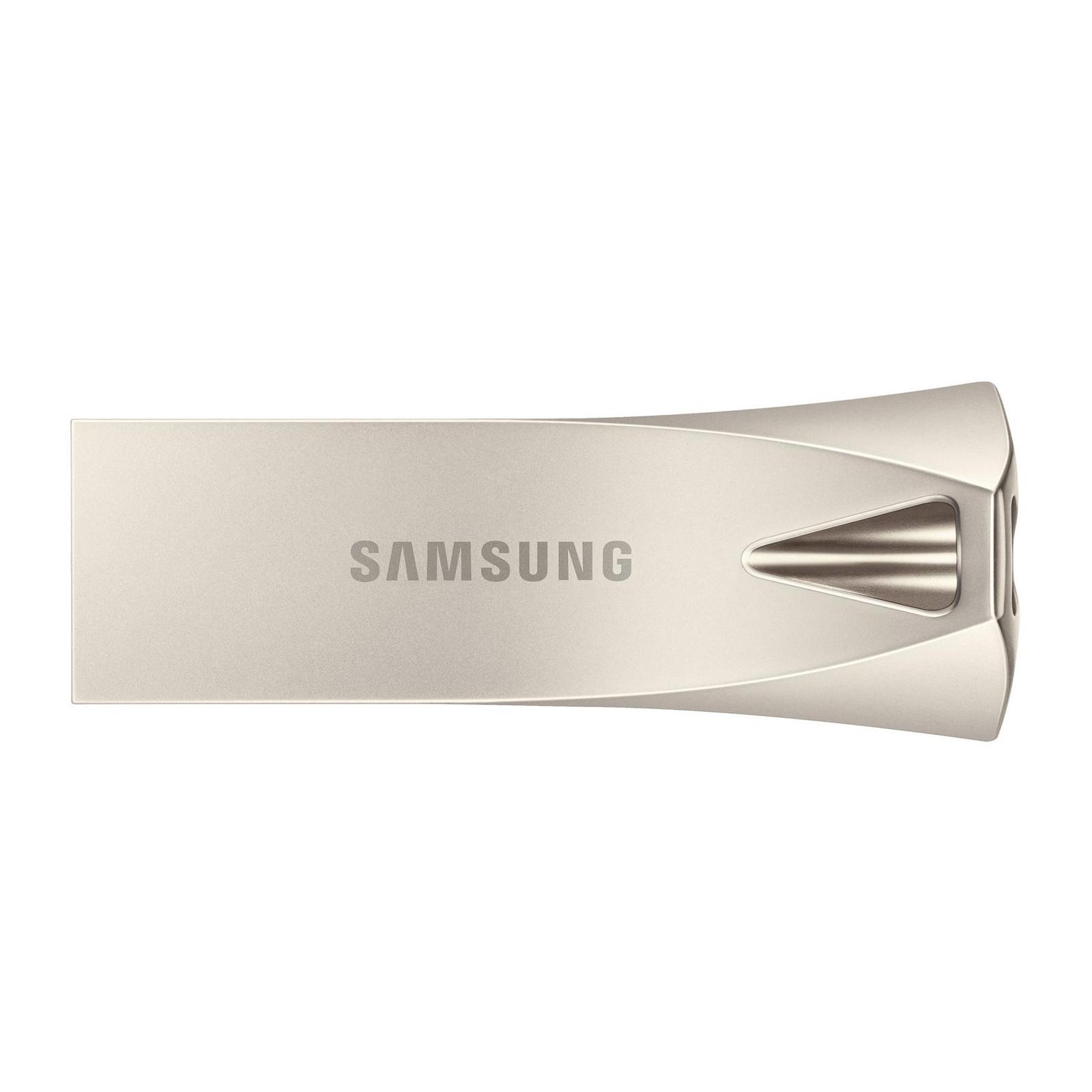 USB флеш накопитель Samsung 64GB Bar Plus Silver USB 3.1 (MUF-64BE3/APC)