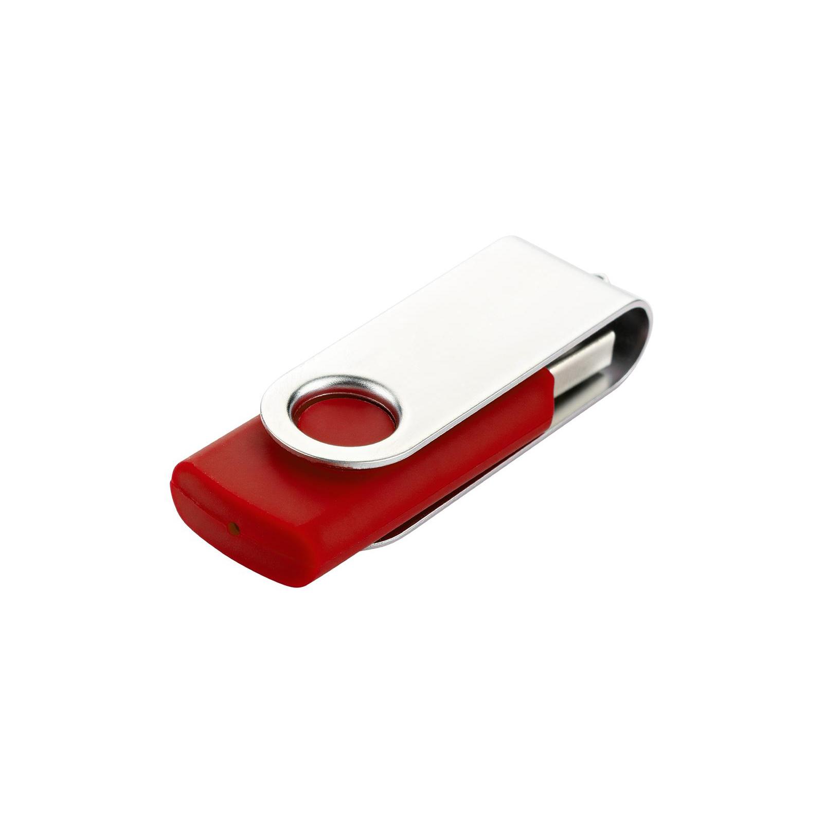 USB флеш накопитель eXceleram 32GB P1 Series Silver/Blue USB 2.0 (EXP1U2SIBL32) изображение 6