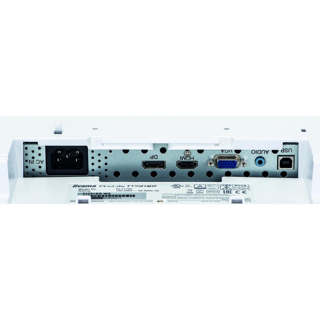 Монитор iiyama T1731SR-W5 изображение 12