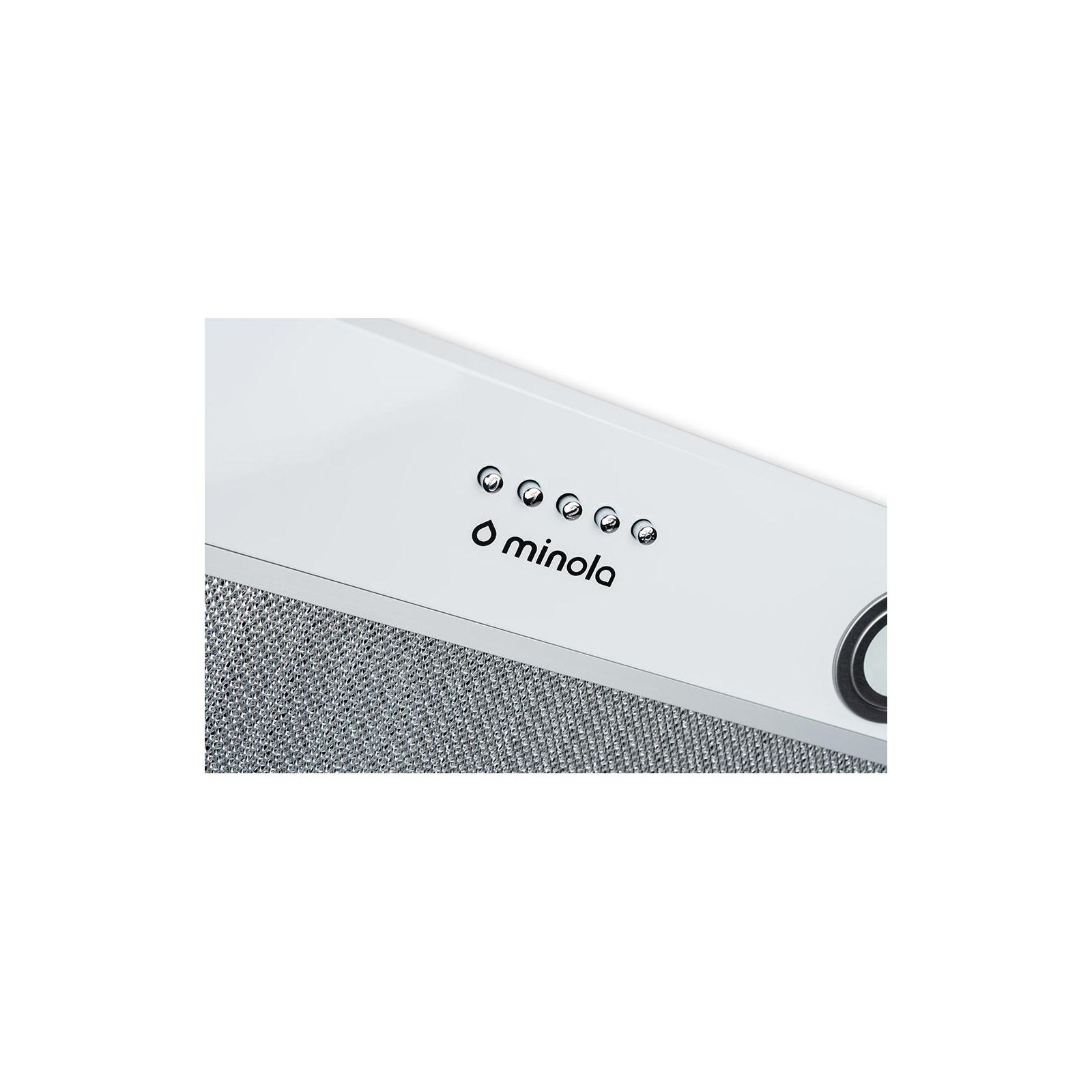 Вытяжка кухонная MINOLA HBI 5822 WH 1200 LED изображение 5