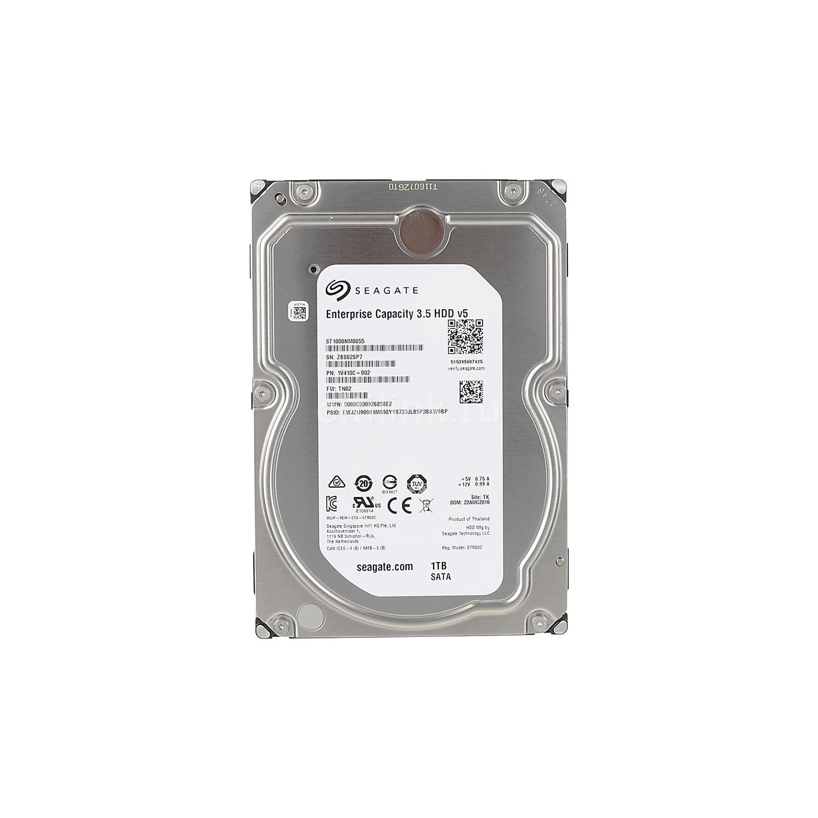 "Жесткий диск 3.5"" 1TB Seagate (# ST1000NM0055-FR #)"