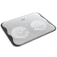 """Подставка для ноутбука OMEGA Laptop Cooler pad """"ICE CUBE"""" 14cm fan USB port black (OMNCPC)"""
