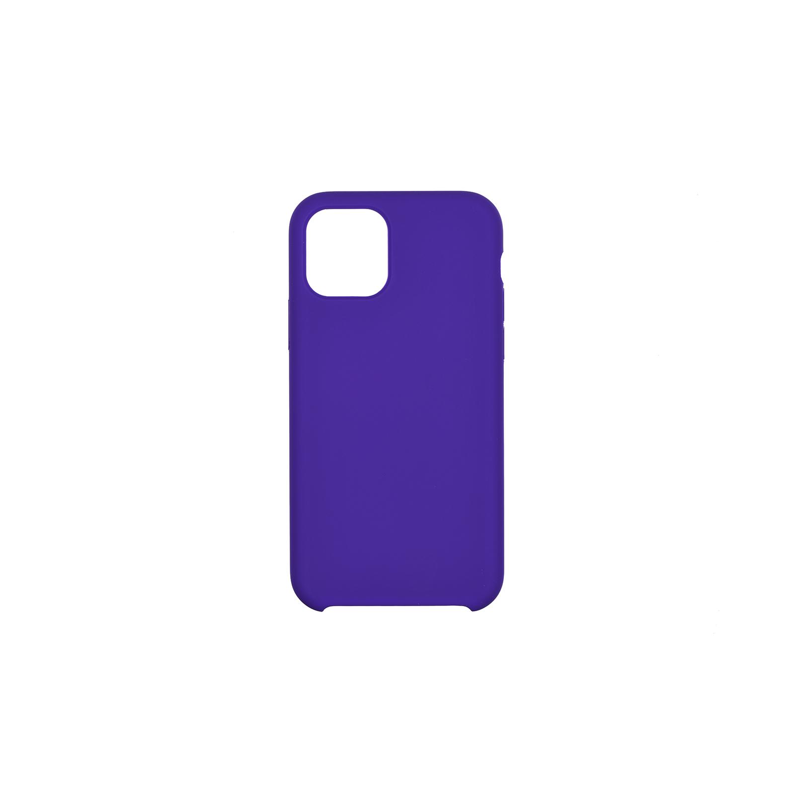 "Чехол для моб. телефона 2E Apple iPhone 11 Pro (5.8""), Liquid Silicone, Dark Purple (2E-IPH-11PR-OCLS-DP)"