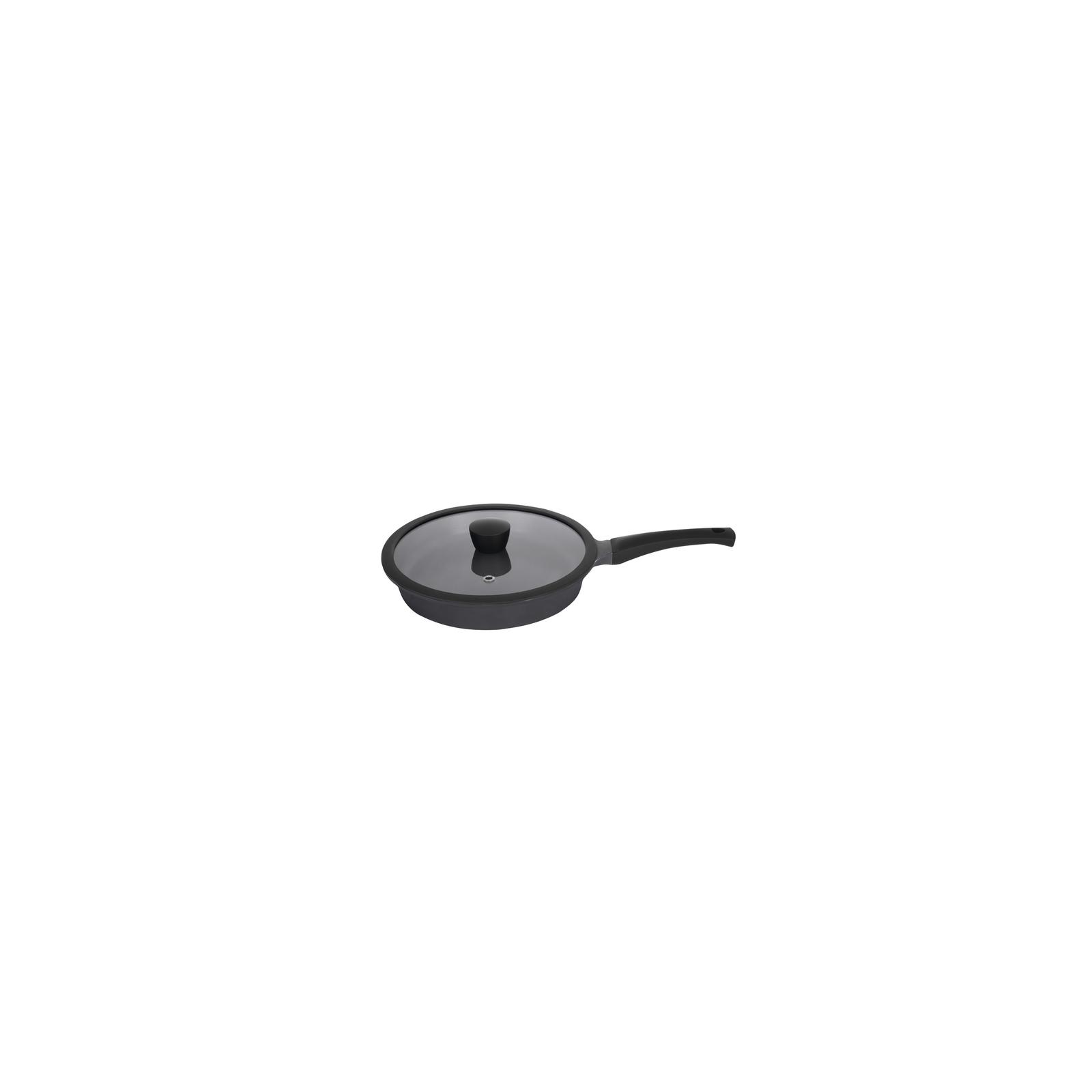 Сковорода Ringel Zitrone black с крышкой 28 см (RG-2108-28 BL) изображение 2