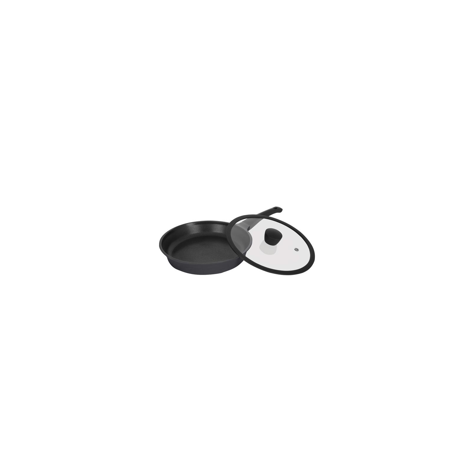 Сковорода Ringel Zitrone black с крышкой 28 см (RG-2108-28 BL)
