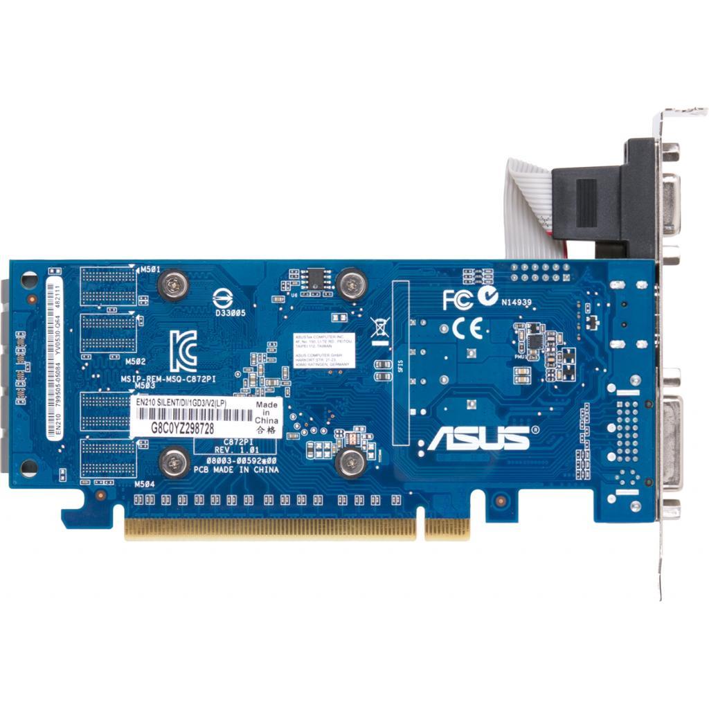 Видеокарта GeForce 210 1024Mb ASUS (EN210 SILENT/DI/1GD3/V2(LP)) изображение 3