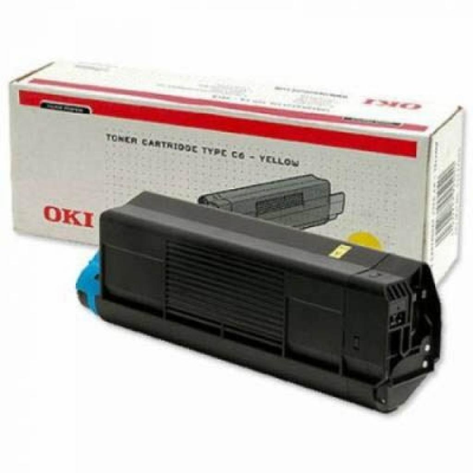 Тонер-картридж OKI C5200/5400 yellow (42804566)