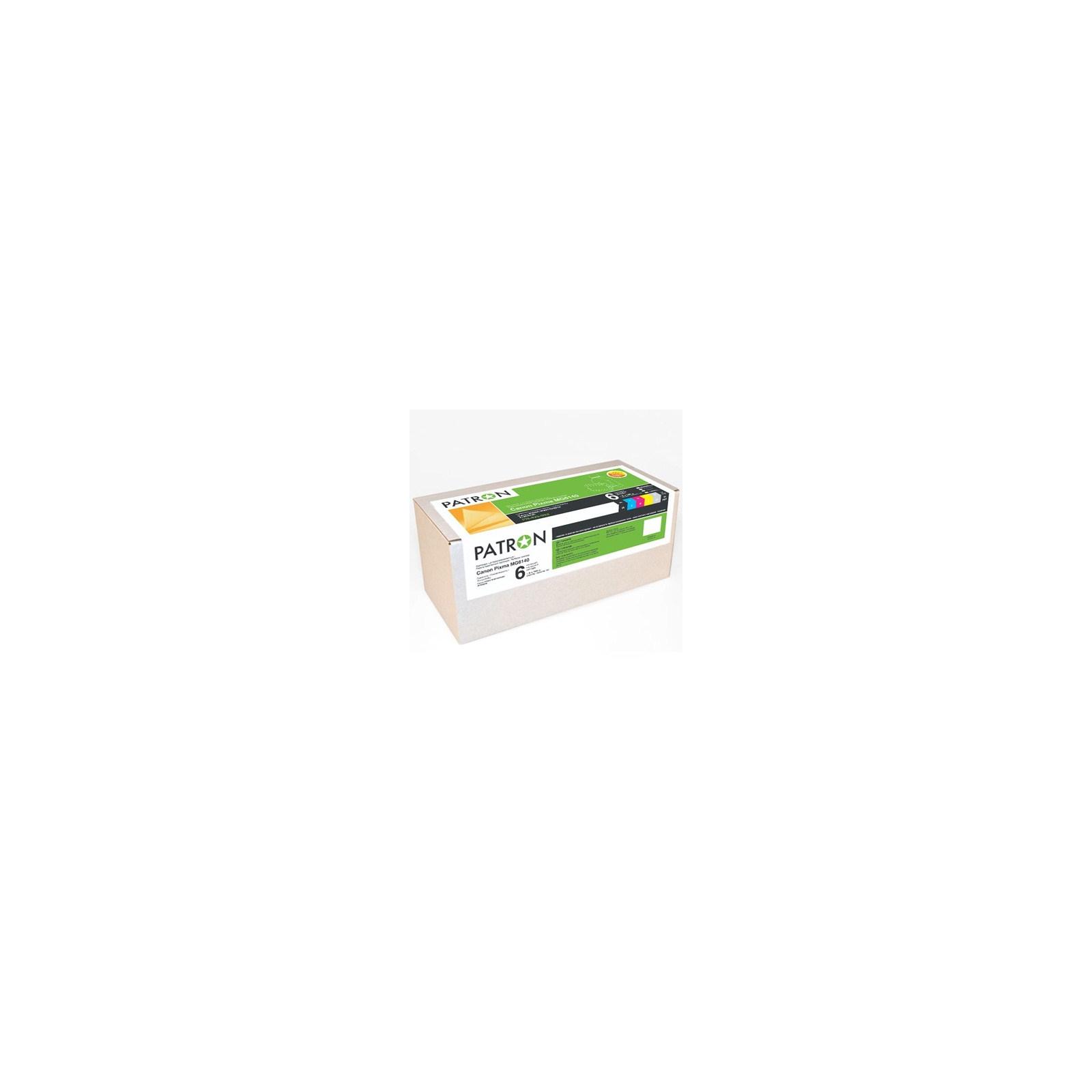 Комплект перезаправляемых картриджей PATRON CANON MG6140/6240/8140/8240 (6шт) (PN-425-N052)