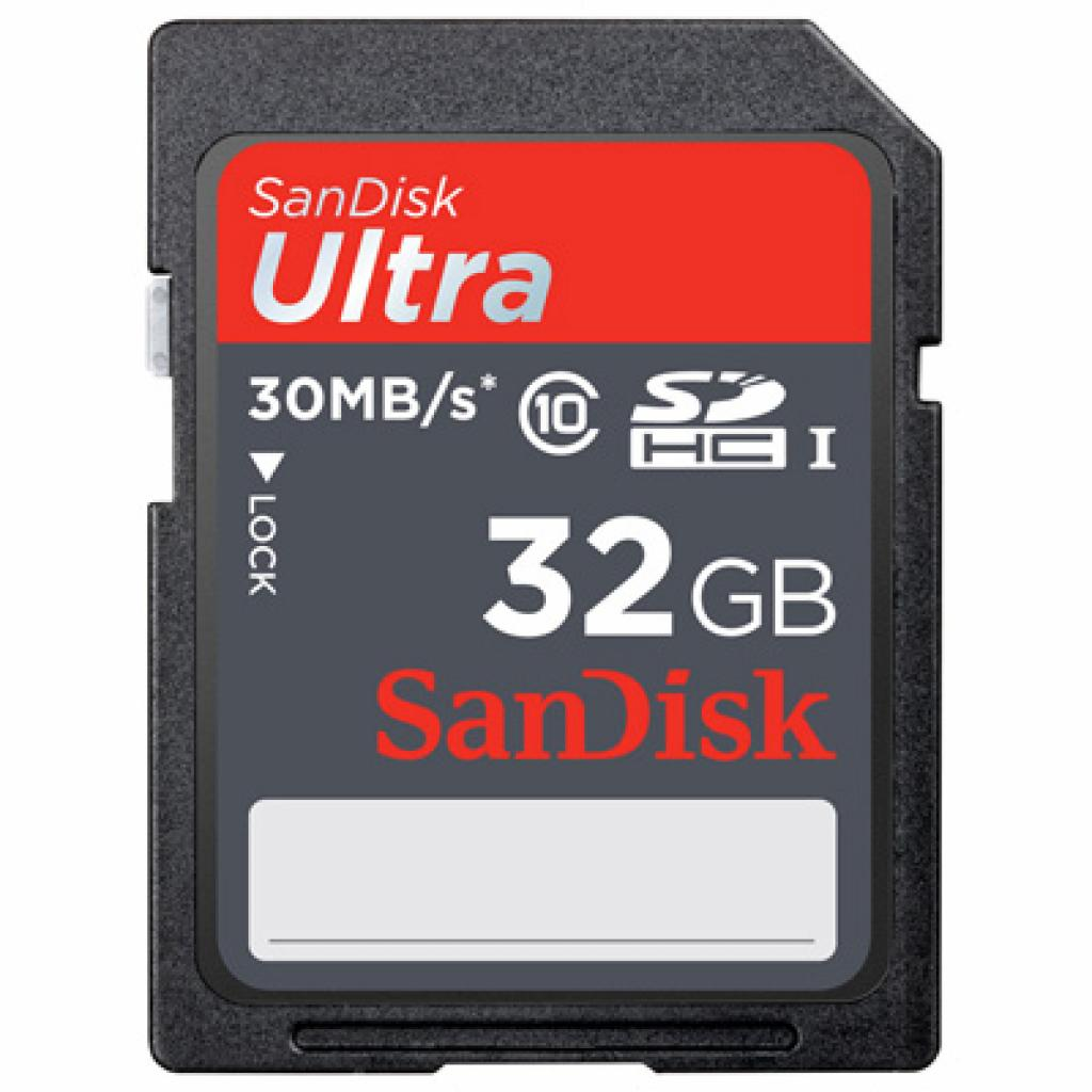 Карта памяти SANDISK 32Gb SDHC Ultra UHS-I Class 10 (SDSDU-032G-U46)