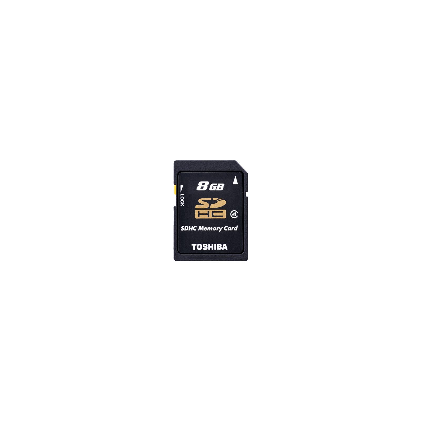 Карта памяти TOSHIBA 8Gb SDHC class 4 (SD-K08GJ(BL5)