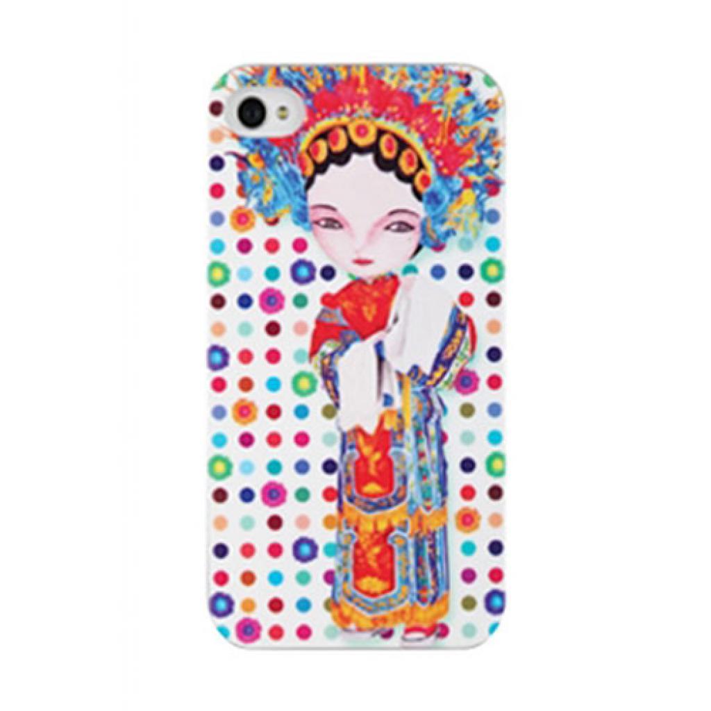 Чехол для моб. телефона ODOYO iPhone 4/4s X A.JIN BEAUTY (PH393BY)