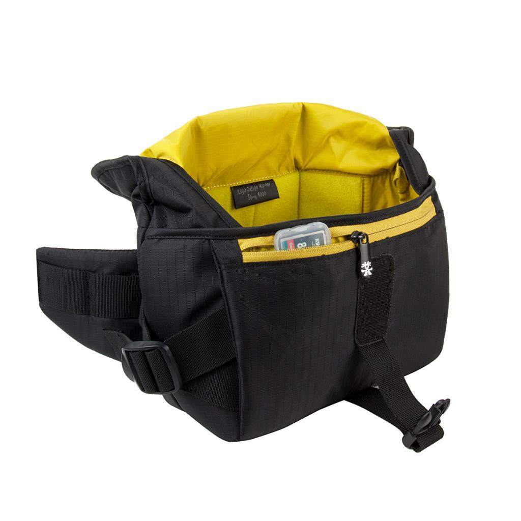 Фото-сумка Crumpler Light Delight Hipster Sling 4000 (black) (LDHS4000-001) изображение 3