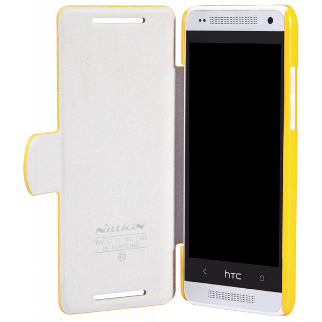 Чехол для моб. телефона NILLKIN для HTC ONE mini/M4-Fresh/ Leather (6076847) изображение 3