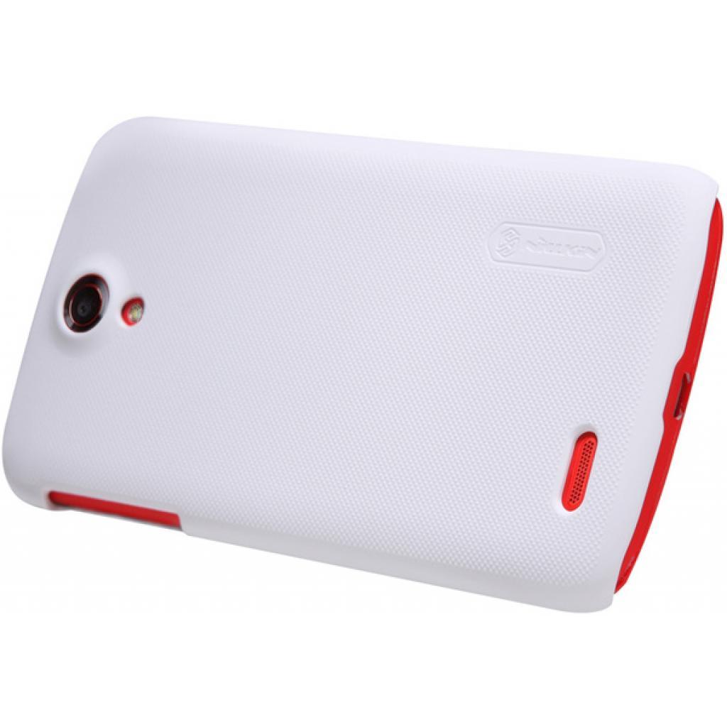 Чехол для моб. телефона NILLKIN для Lenovo S820 /Super Frosted Shield/White (6077010) изображение 3