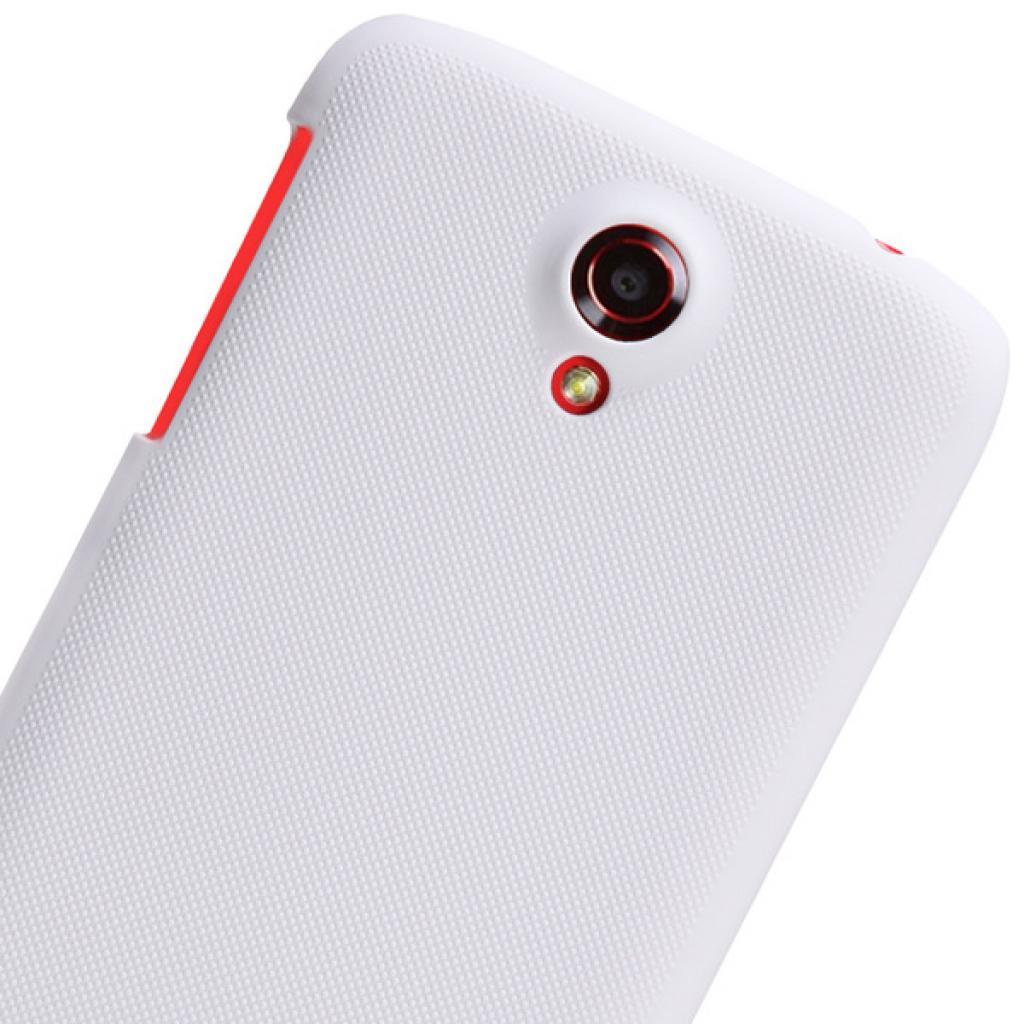 Чехол для моб. телефона NILLKIN для Lenovo S820 /Super Frosted Shield/White (6077010) изображение 5