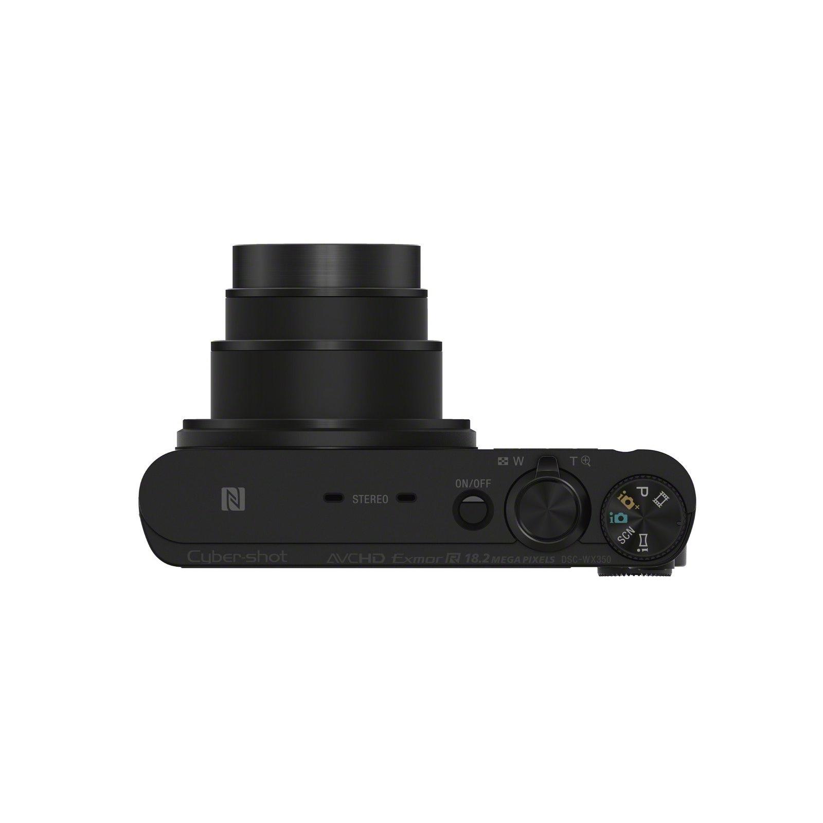 Цифровой фотоаппарат SONY Cyber-shot WX350 Black (DSCWX350B.RU3) изображение 6