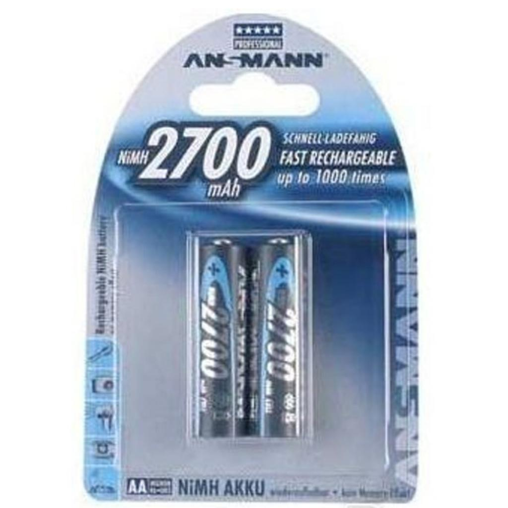 Аккумулятор Ansmann AA 2700mAh * 2 (5030852)