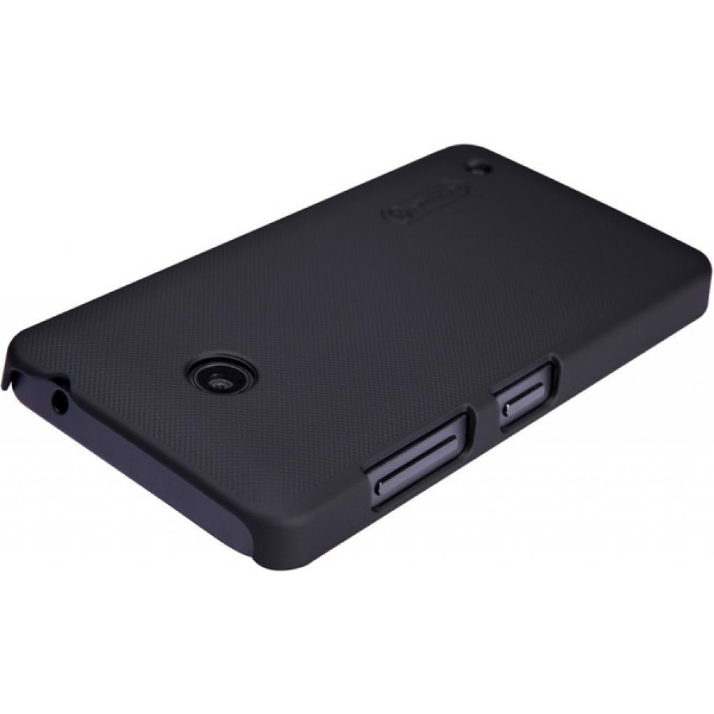Чехол для моб. телефона NILLKIN для Nokia Lumia 630 /Super Frosted Shield/Black (6154948) изображение 3