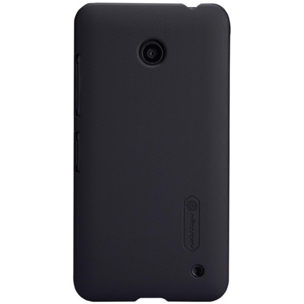 Чехол для моб. телефона NILLKIN для Nokia Lumia 630 /Super Frosted Shield/Black (6154948)