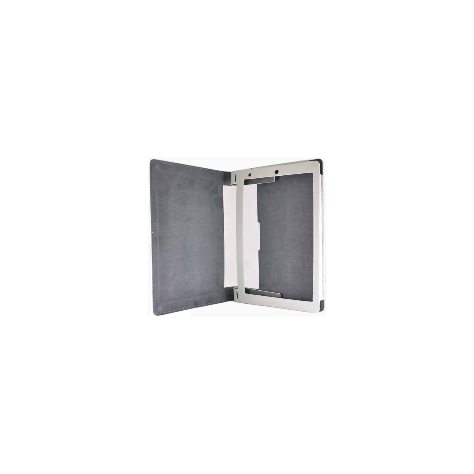 "Чехол для планшета Pro-case для Lenovo B8000 Yoga 10"" white (PC B8000w) изображение 3"