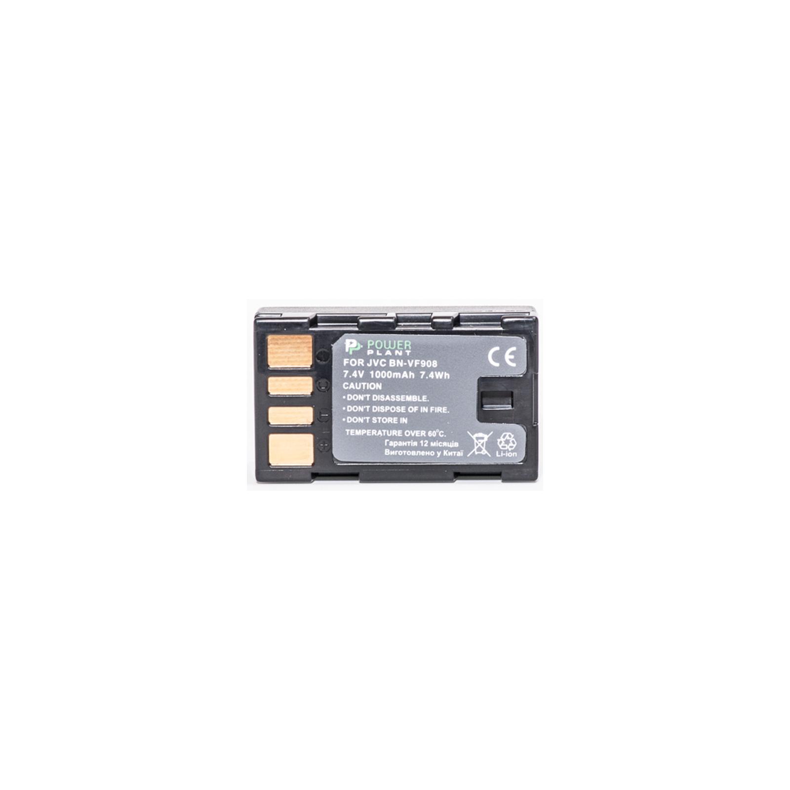 Аккумулятор к фото/видео PowerPlant JVC BN-VF908U (DV00DV1333) изображение 2