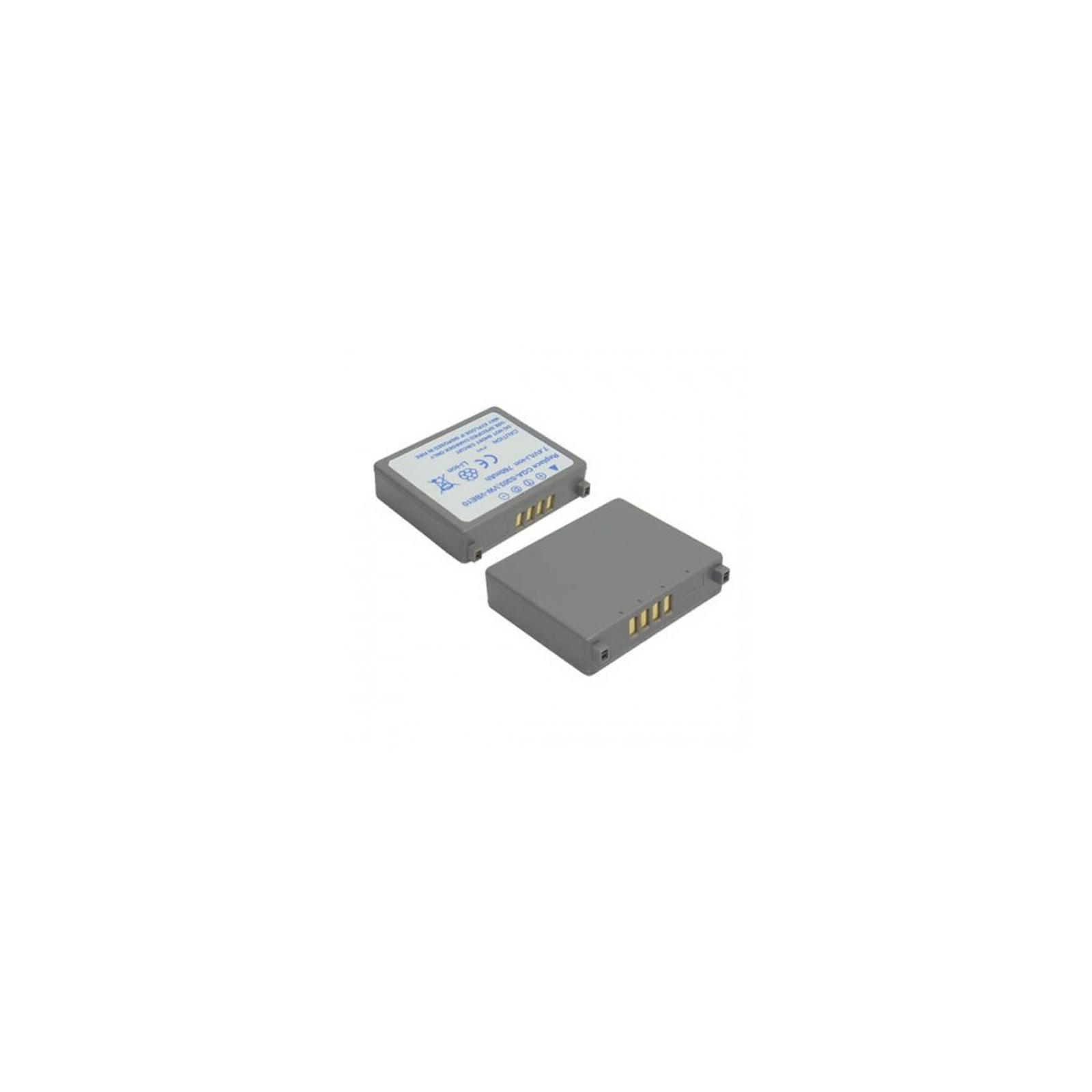 Аккумулятор к фото/видео EXTRADIGITAL Panasonic VW-VBE10, CGA-S303 (DV00DV1349)