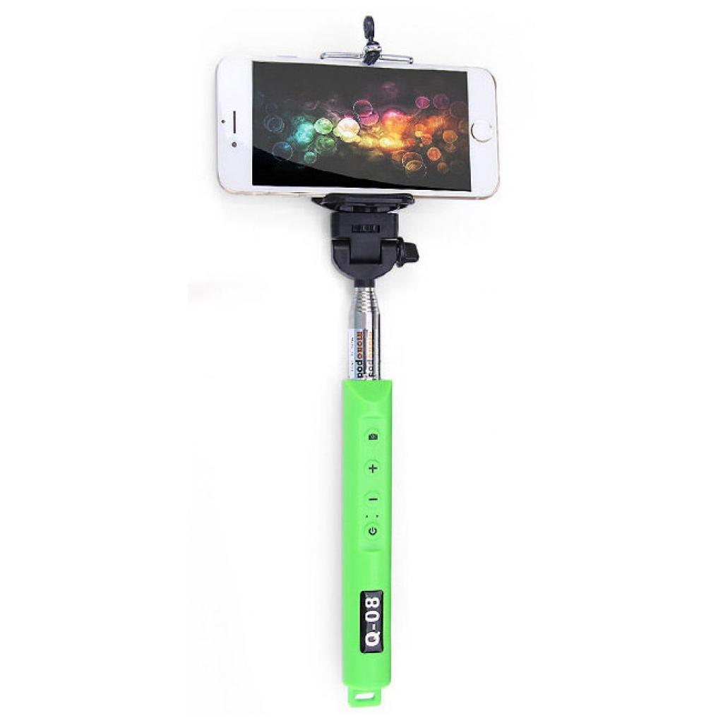 Монопод для селфи Yunteng selfi Monopod Q-08 Green +Bluetooth кнопки с Zoom (37828)