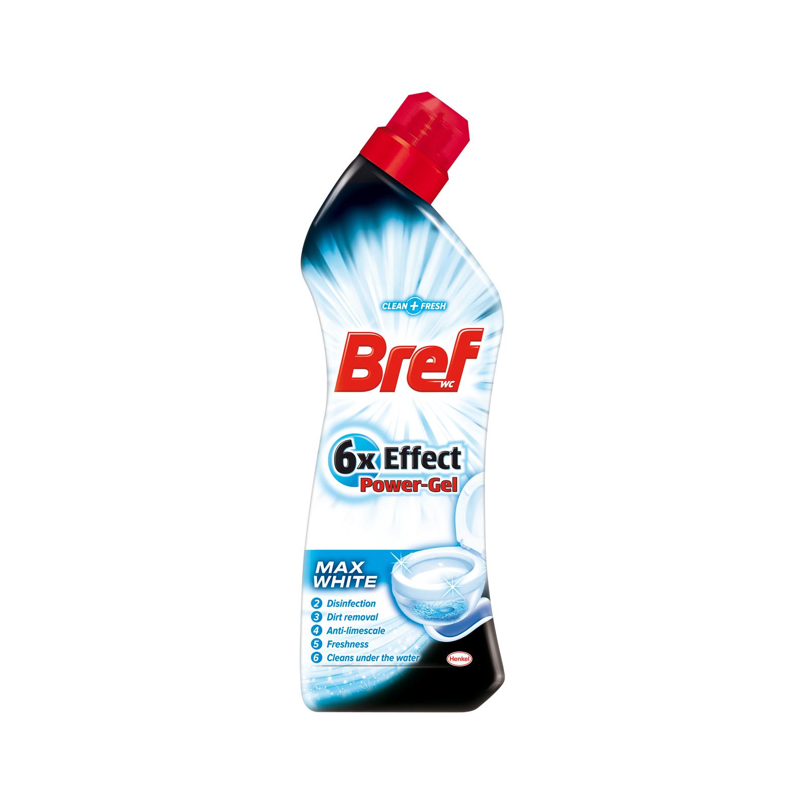 Чистящий гель Bref 6 в 1 Ярко Белый 750 мл (9000100863681)