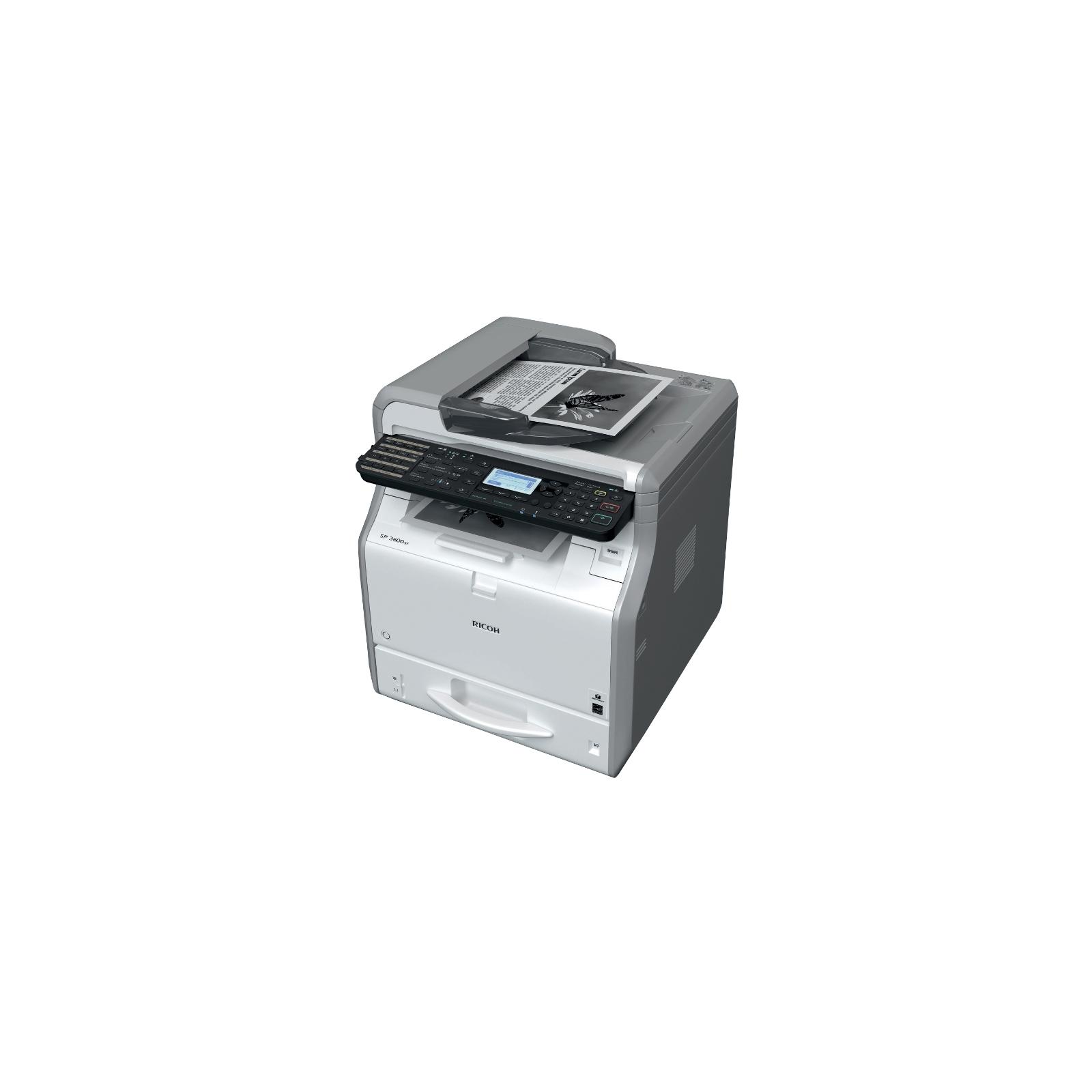 Многофункциональное устройство Ricoh SP 3600SF (407308) изображение 2