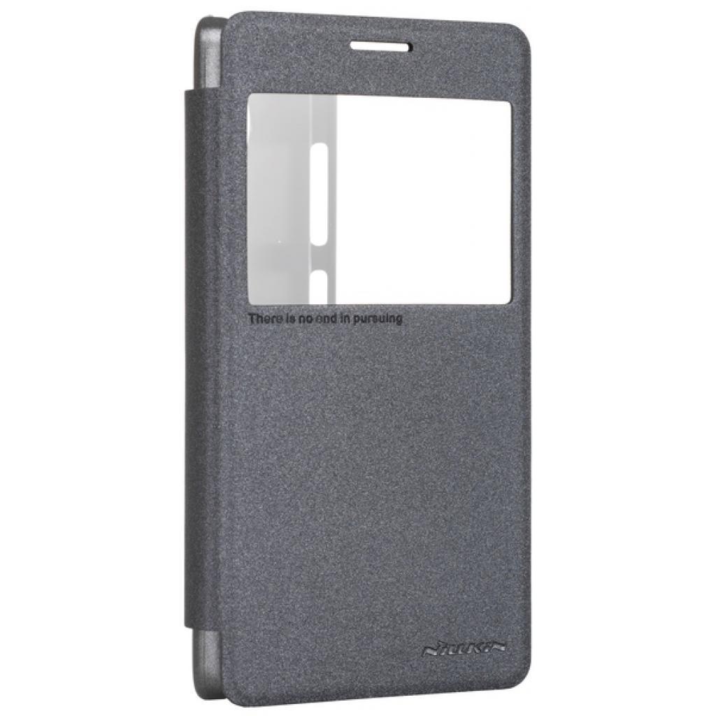 Чехол для моб. телефона NILLKIN для Lenovo Vibe P1 Black (6248030) (6248030)