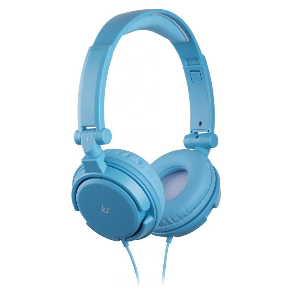 Наушники KitSound KS iD On-Ear Headphones with In-Line Mic Blue (KSIDBL)