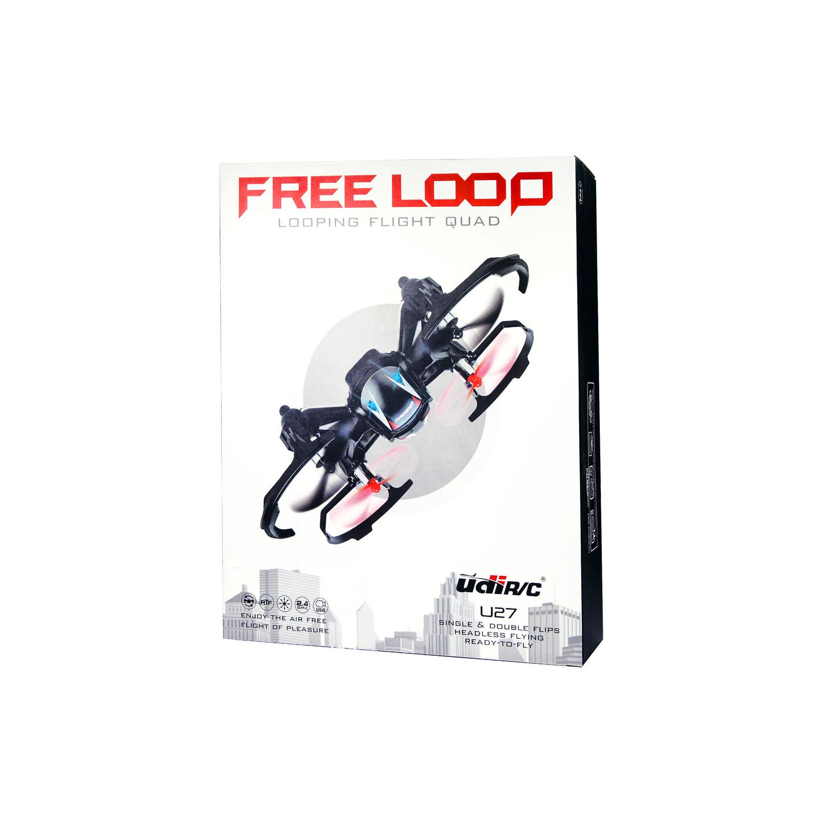 Квадрокоптер UDIRC U27 FREE LOOP 2,4 GHz 139 мм 4CH 3,7V 450mAh LiPo Battery (U27) изображение 8
