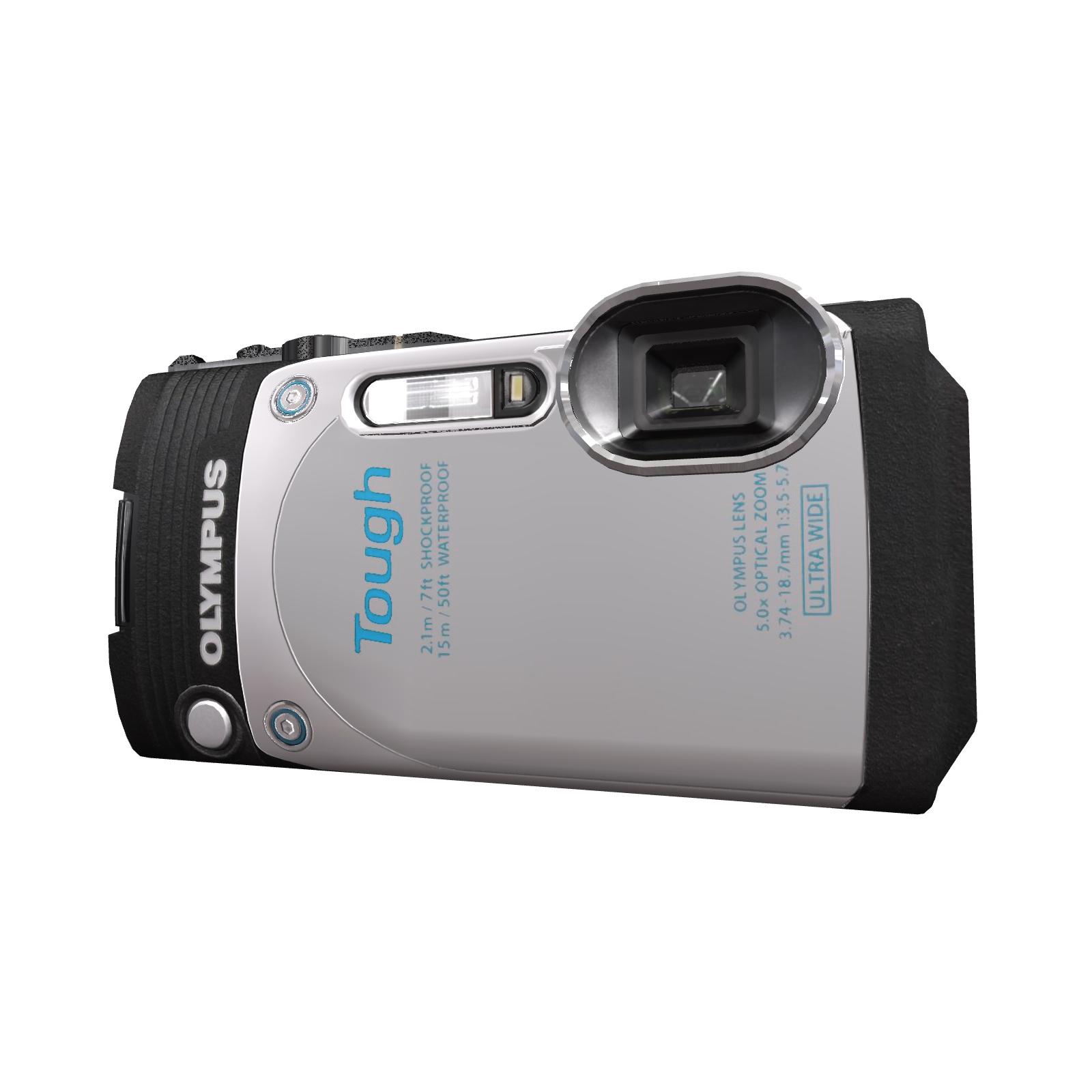 Цифровой фотоаппарат OLYMPUS Tough TG-870 White (Waterproof - 15m