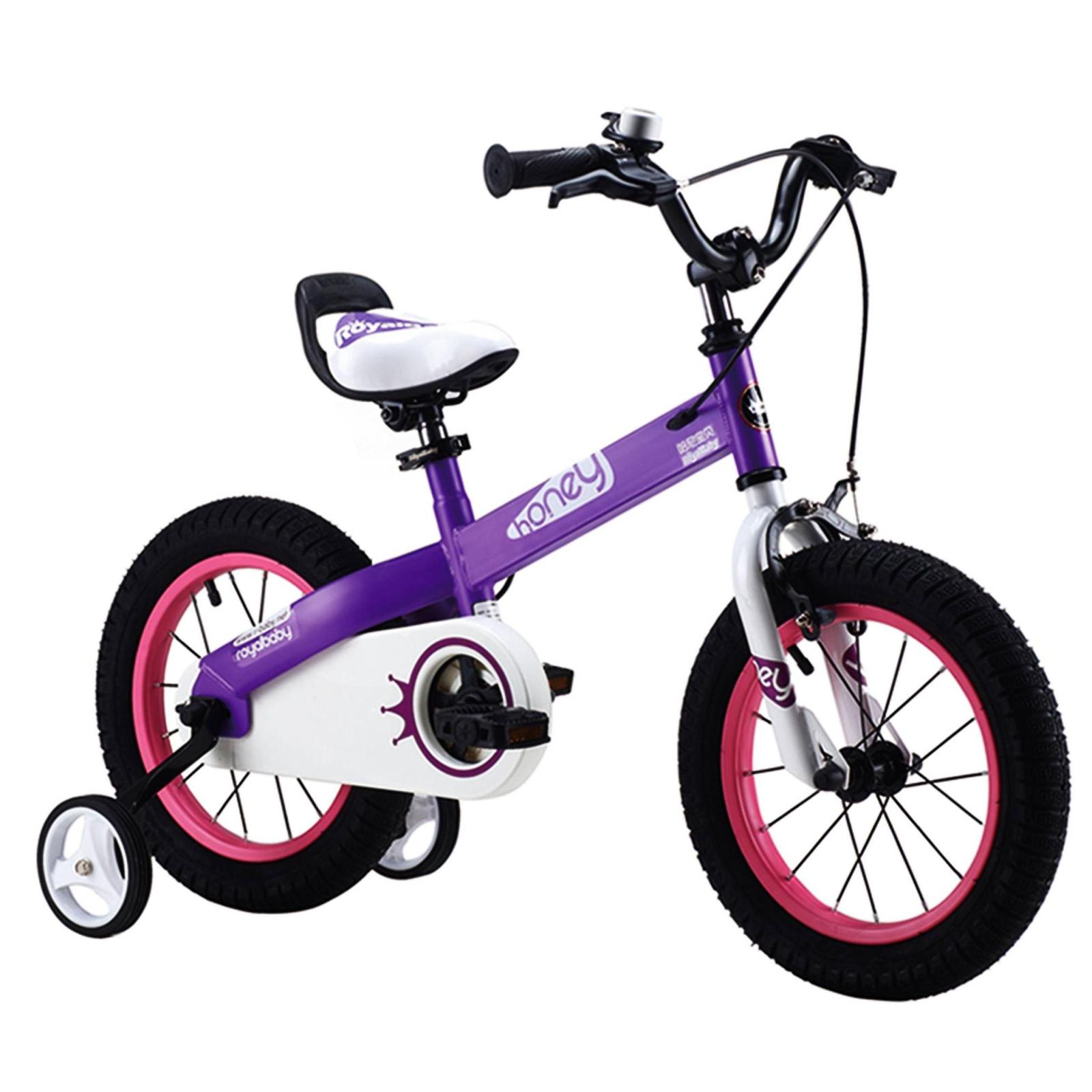 """Детский велосипед Royal Baby HONEY 18"""", фиолетовый (RB18-15H-PRL)"""